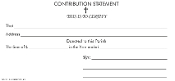 No. 31 - Contribution Statement (small)