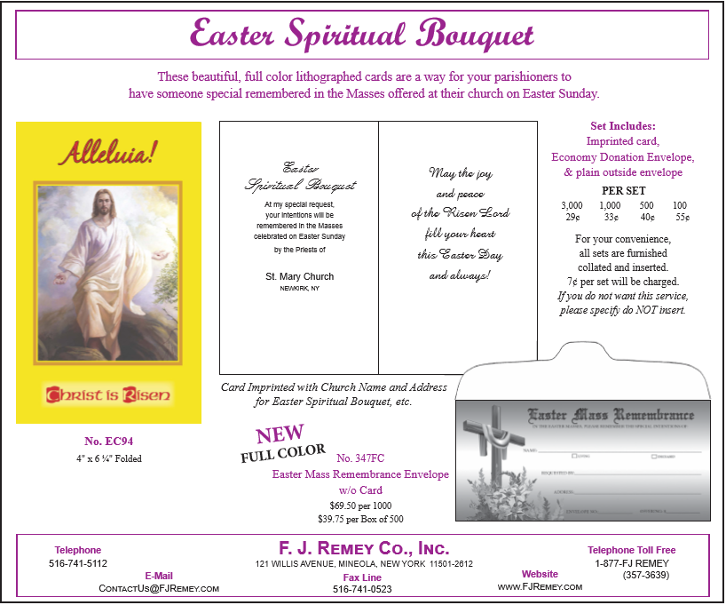 Easter Spiritual Bouquet