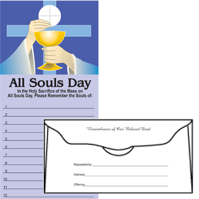 All Souls Day - Full Color Envelope (Qty 500)